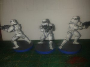 Finished Troopers