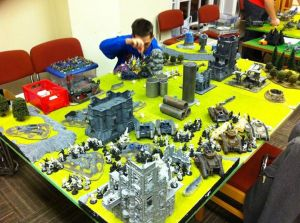 Gaz vs Matt's Imperial Guard