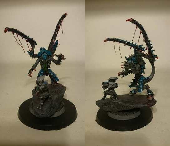 Miniature Monday - Tyranid Lictor by James Salisbury