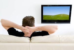 man_watching_television