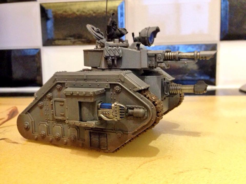 Leman Russ Annihilator by Matt Holden