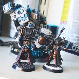 Skitarii and Tau Broadside by James Salisbury