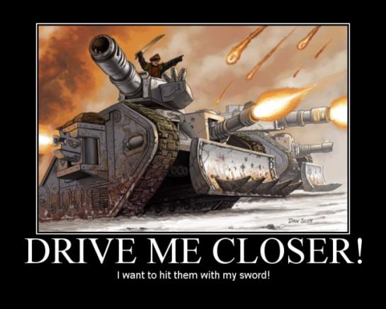 Drive Me Closer!