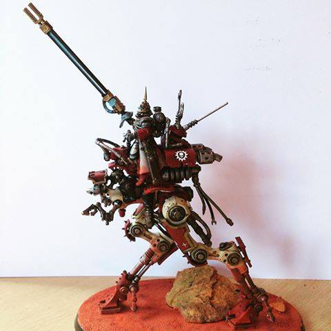 Adeptus Mechanicus Sydonian Dragoon by Ben Edwards