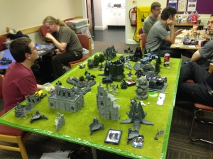 Dark Eldar vs Wolves