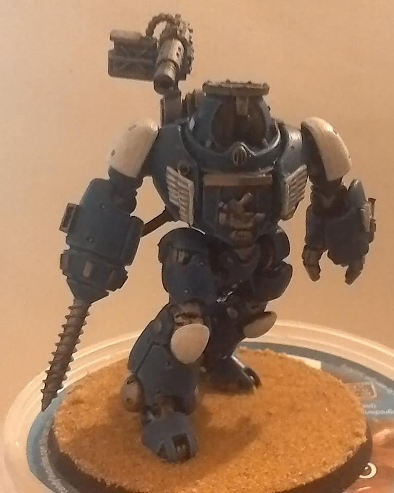 Squat Mining Droid by Jon Halls
